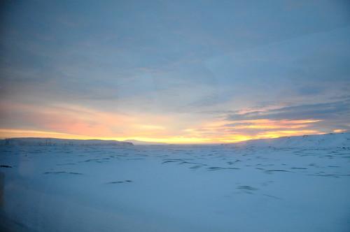 sunrise iceland