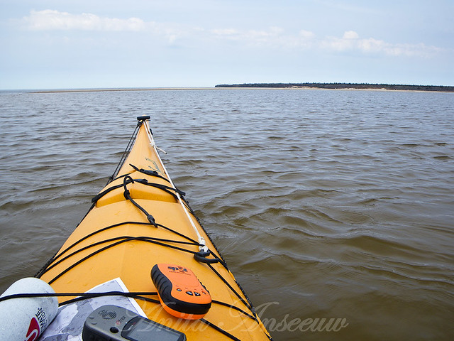 Kayaking Lake Winnipeg