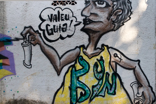 Street art in Rio | by JarleNaustvik