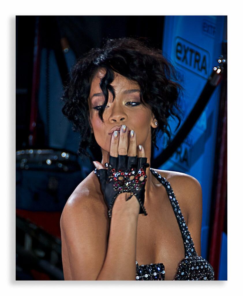 Rihanna at the AMA2007