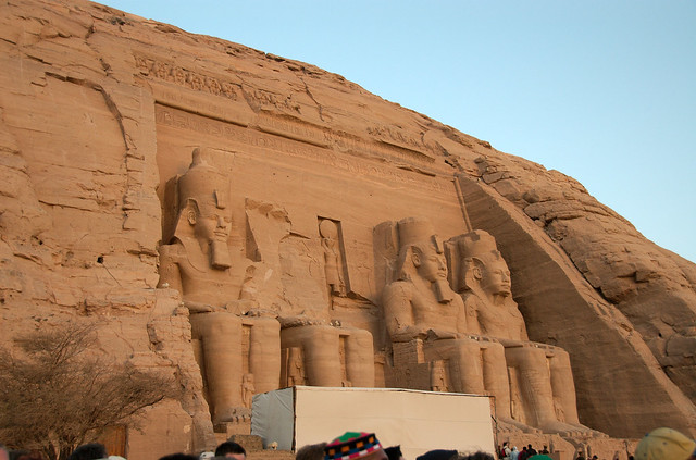 Header of Abu Simbel
