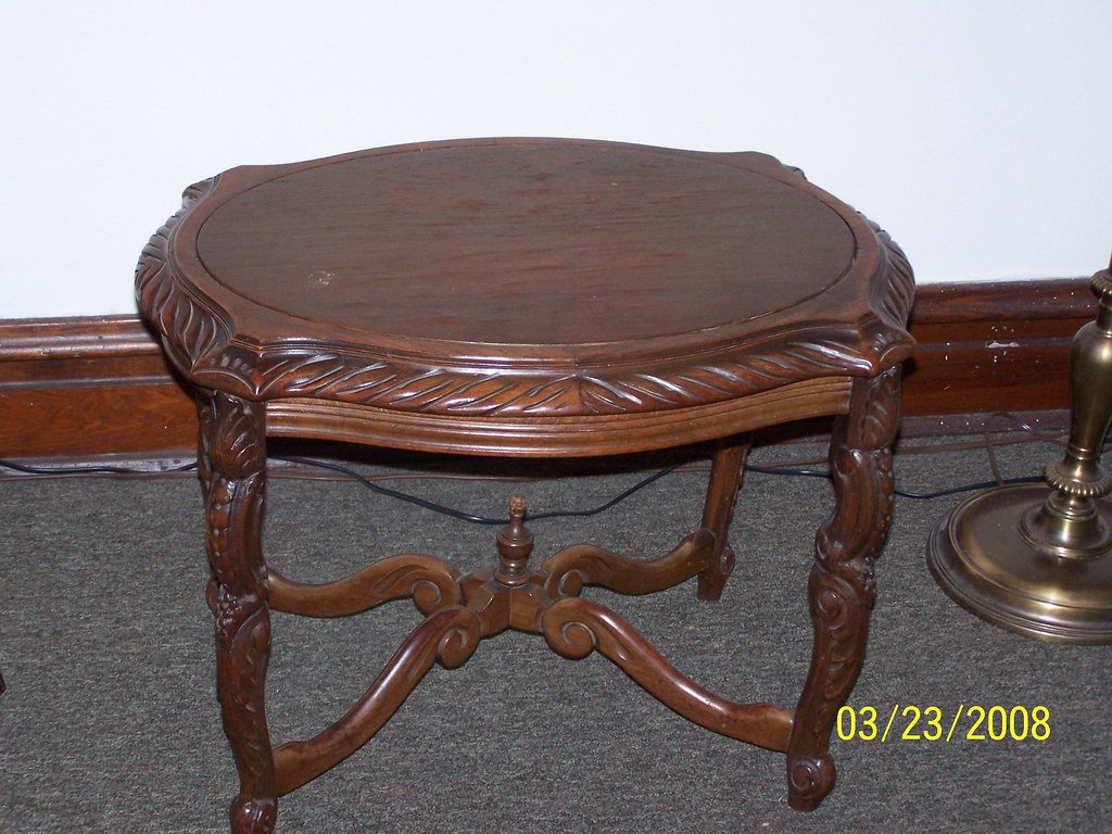 oval coffee table - 43
