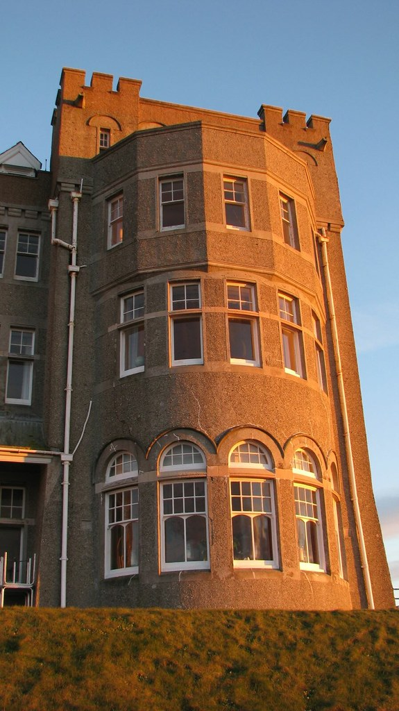 Camelot Castle Hotel, Tintagel - the turret