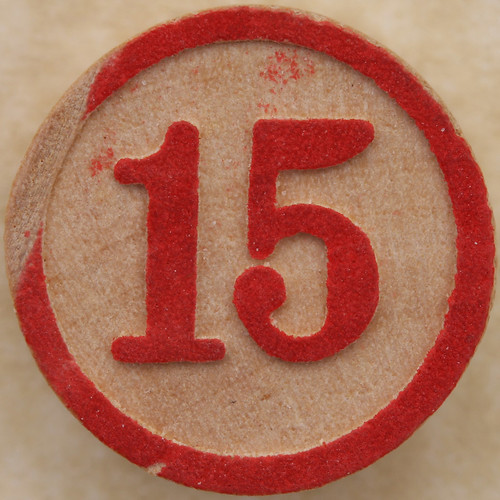 Bingo Number 15