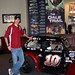 Joey Logano and His Legend Car