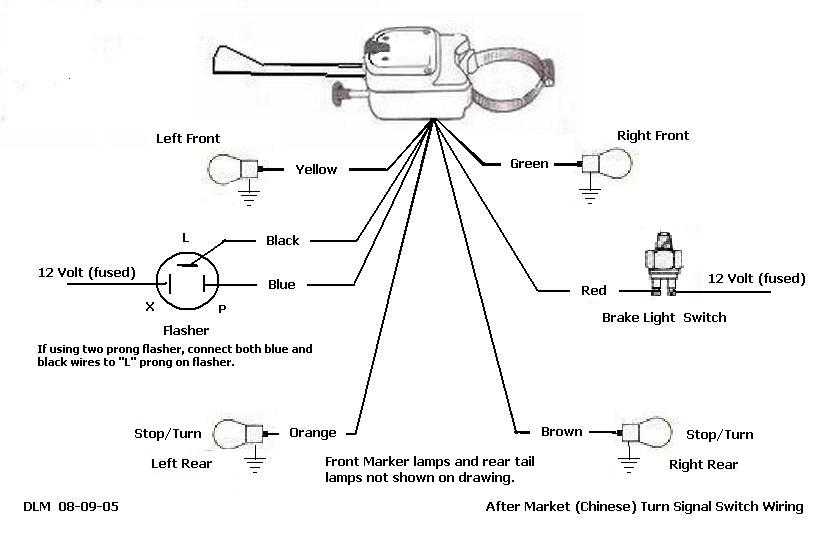 6 Wire Turn Signal Diagram | Wiring Diagram Porsche Wiring Diagram Simplified on