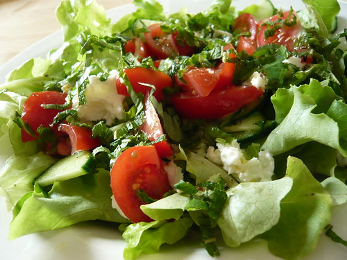 Lunchtime salad