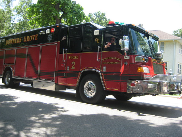 Downers Grove Fire Department Squad 2 Truck Flickr Photo Sharing