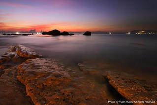 Gueihou Fishing Harbor at Dawn