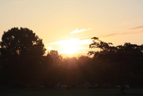 trees sun sunrise nc lincolncounty ncpedia