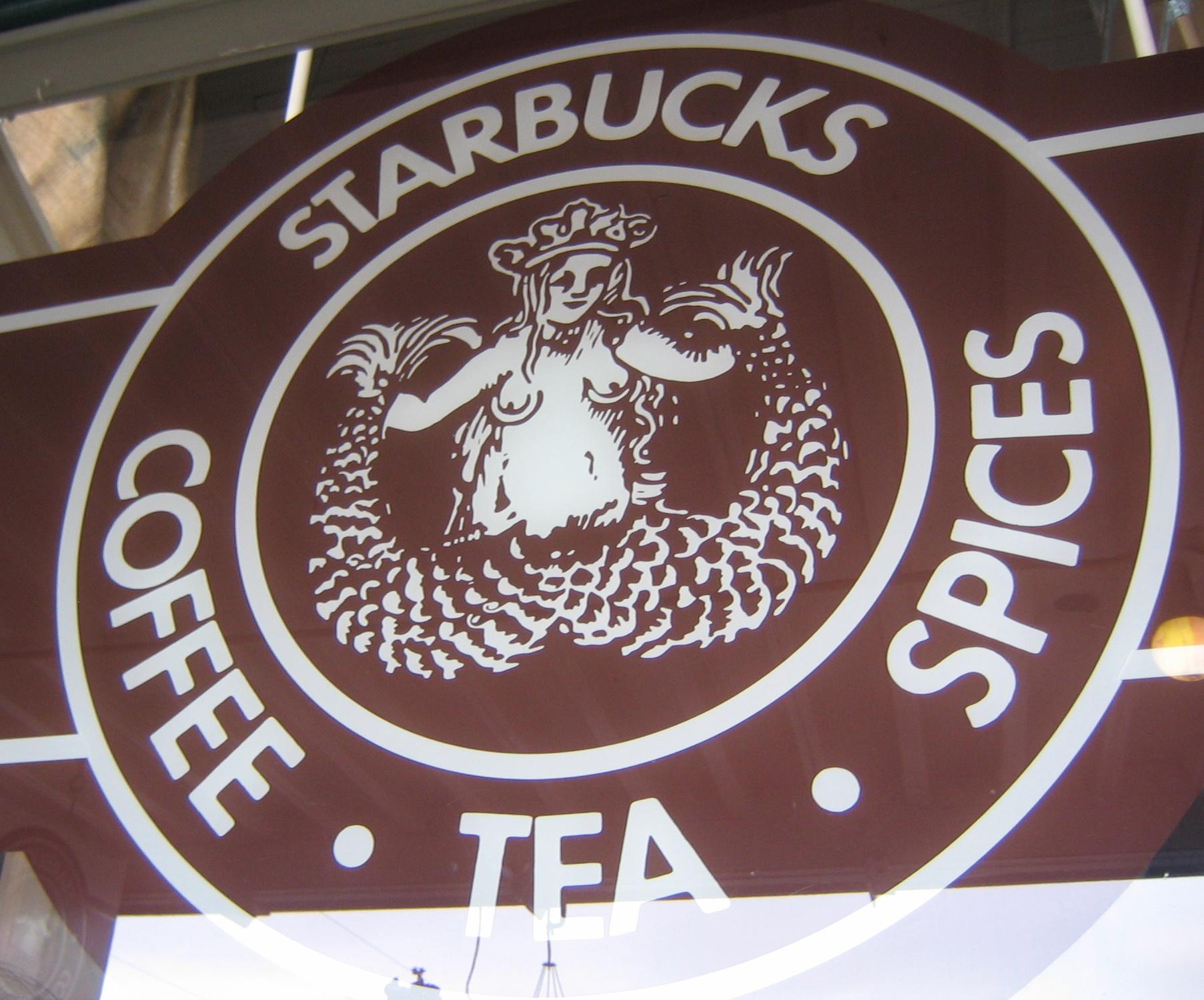 the old starbucks logo | Flickr - Photo Sharing!