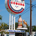 Coburg Milk Sign