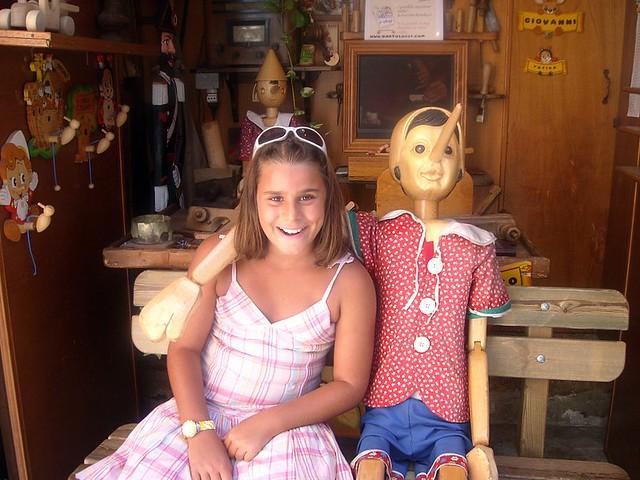 Erika e Pinocchio