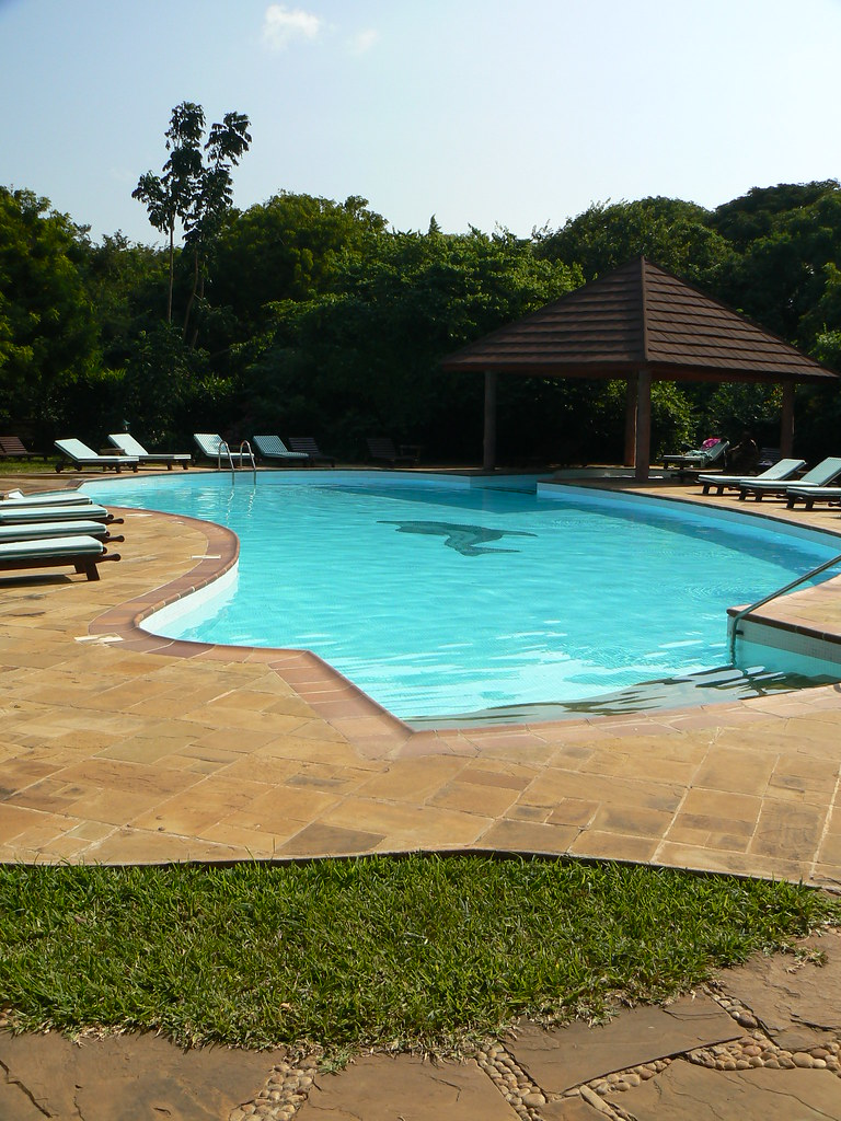 Spa Pool at Leopard Beach Hotel, Kenya