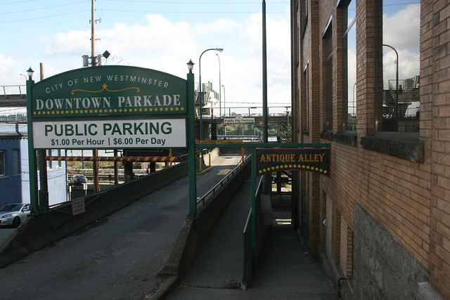 New Westminster Downtown Parkade