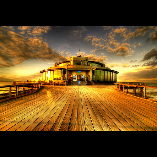 wood sunset sea water clouds pier floor perspective blankenberge bec hdr themoulinrouge coolshot infinestyle bratanesque