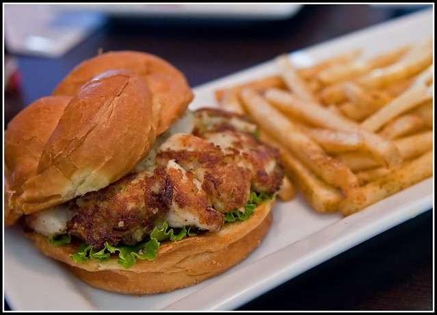 ruby tuesday's jumbo lump crab burger | Flickr - Photo Sharing!