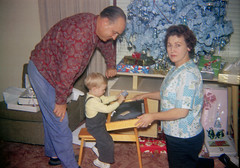 Home school, My first school desk Christmas 1963