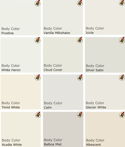 Blog post erin williamson for Neutral off white paint