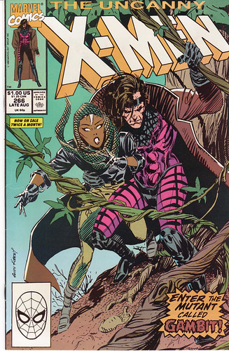 X-Men #266 Gambit First Appearance