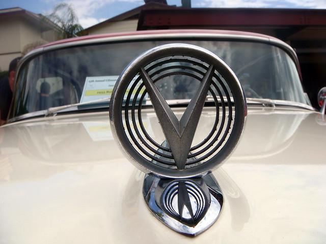 06b 1955 Buick Century - Hood Ornament (E)