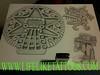 Aztec Moon Goddess and Quetzalcoatl
