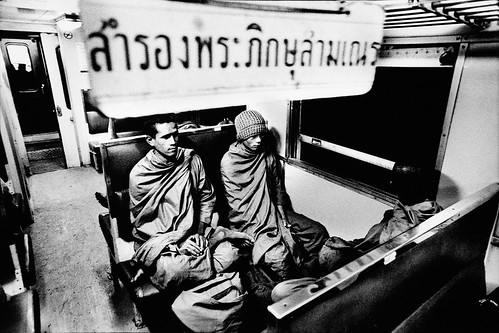 Forest monks train journey 2