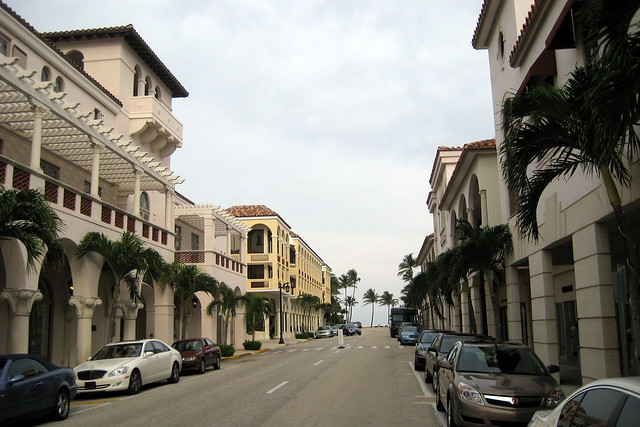 Florida Palm Beach Worth Avenue Worth Avenue