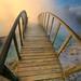 A footbridge into the light ... by asmundur