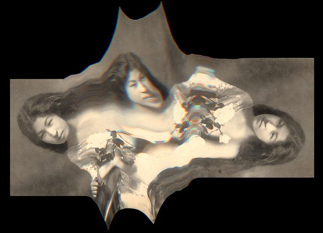 BATMAN meets GEISHA meets SALVIDOR DALI -- Stupid Scanner Tricks #1