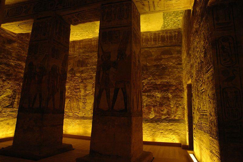 Interior del Templo de Nefertari ... (fotografías originales y propias) Abu Simbel, el templo de las dos vidas - 2473748049 01bdaf2efa o - Abu Simbel, el templo de las dos vidas