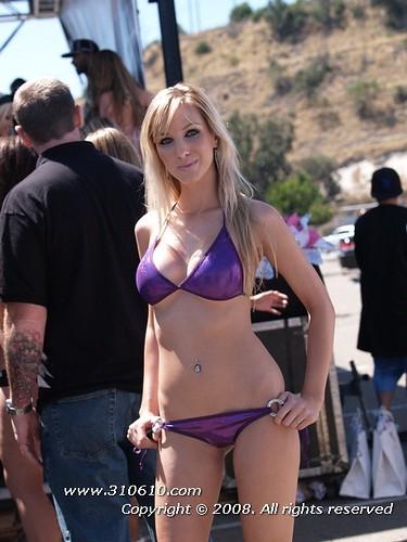 2008 san diego car show bikini contest