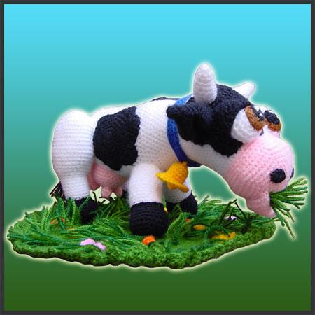 AMIGURUMI COW PATTERN FREE Knitting PATTERNS
