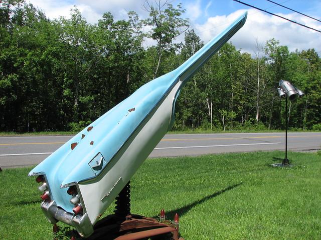 Rocket rebuilt from retro cars