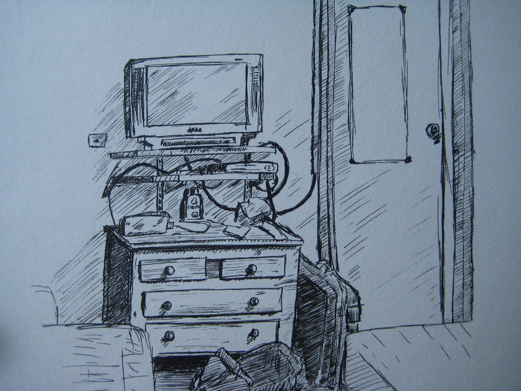 My room - With pen