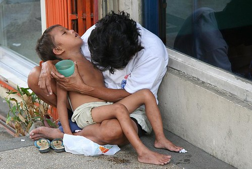 Living on the street in Manilla - Philippines - Asia