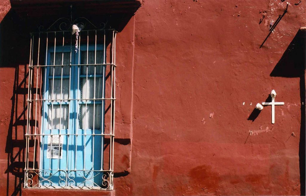 Oaxaca City window