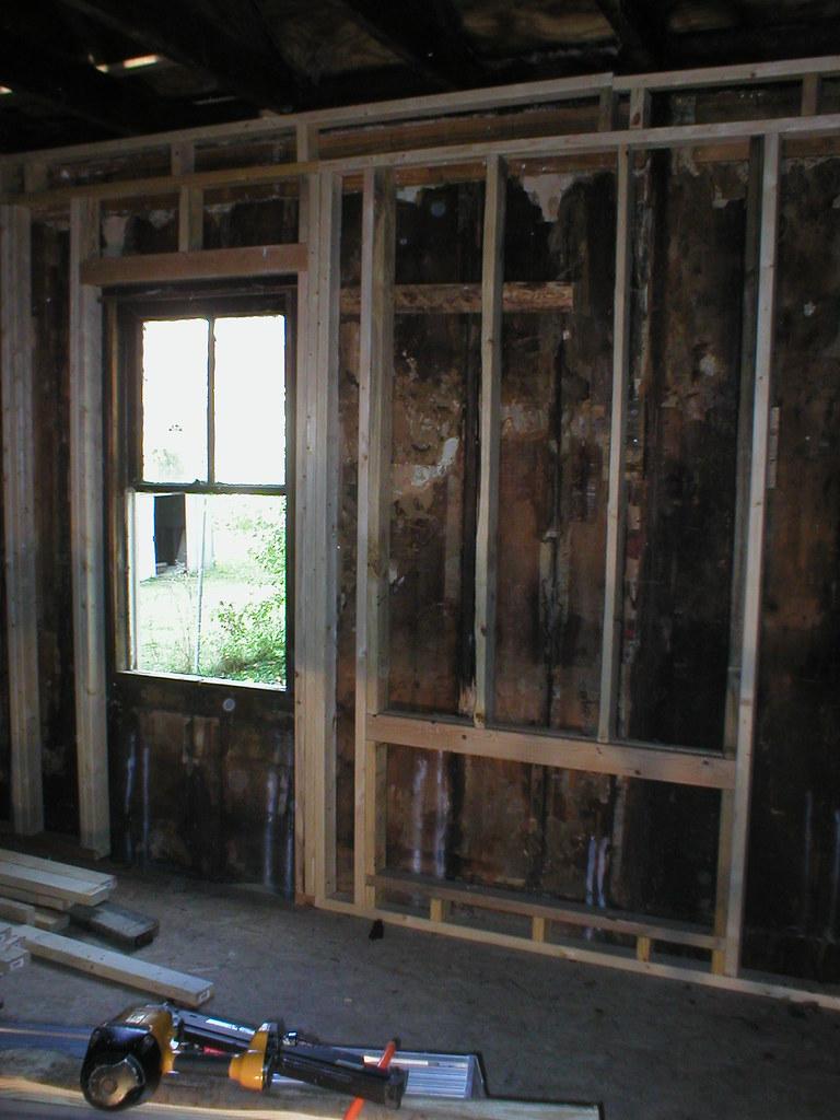 Front Door and Heat AC area