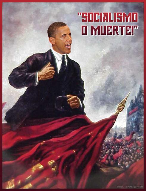 El Presidente Barry Hussein Obama - The November Socialist Revolution!