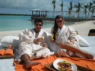 "The best Resort in the Caribbean now serves; ""Breakfast in Bed, On the Beach!"""