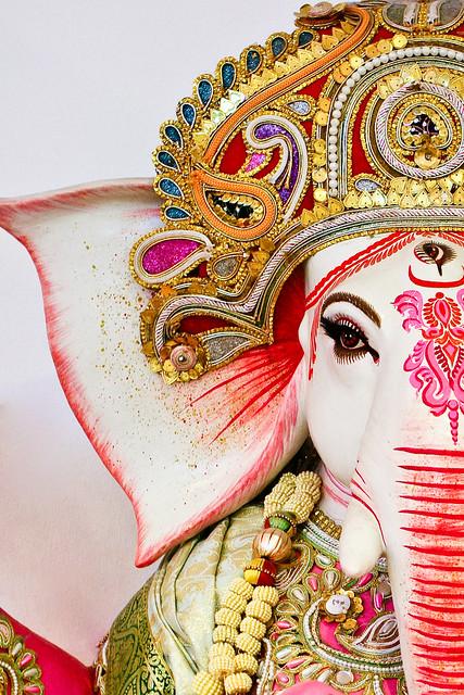 Ganesh waits