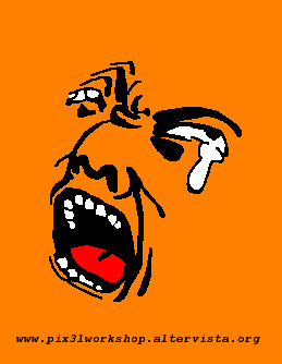 Orange Crying