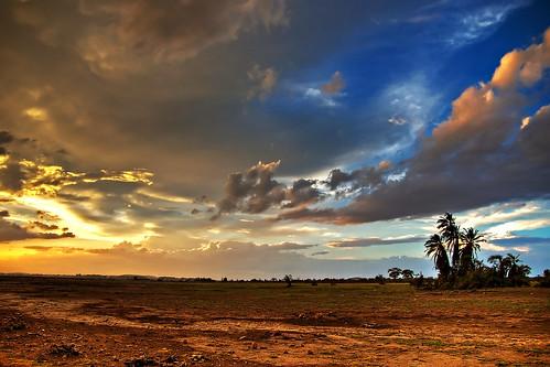 africa sunset geotagged long sonnenuntergang pentax kenya safari afrika tamron kenia coordinates hdr position lat 2007 amboseli 3xp photomatix k100d tamron18250 traumlicht traumlichtfabrik