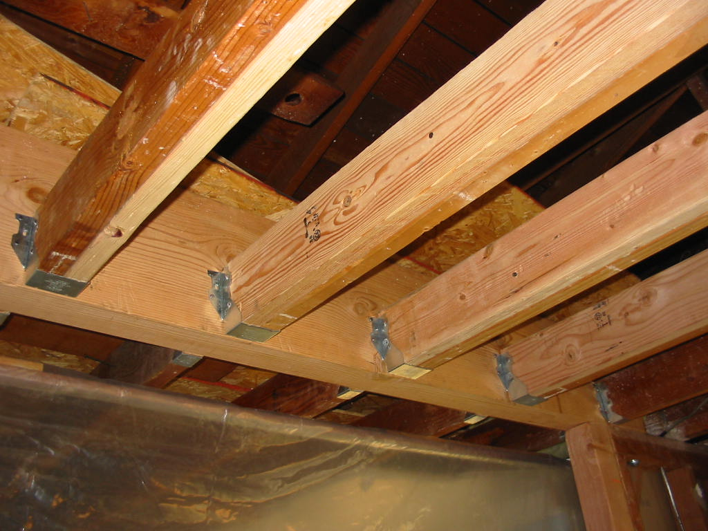 All Sizes New Ceiling Joists Flickr Photo Sharing