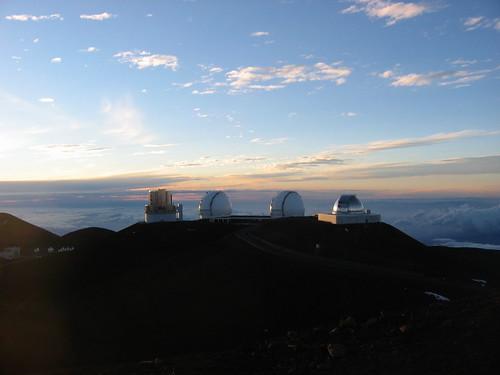 Nogwater's photo of some Mauna Kea telescopes.