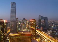 Beijing skyline by yohanes budiyanto