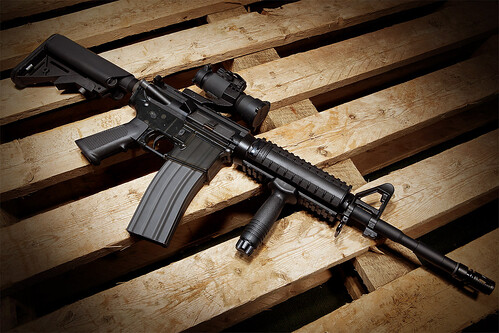 無料写真素材, 戦争, 武器・兵器, 小銃・ライフル, Mカービン, アメリカ軍