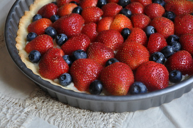 Fresh Strawberry-Blueberry Tart | Flickr - Photo Sharing!