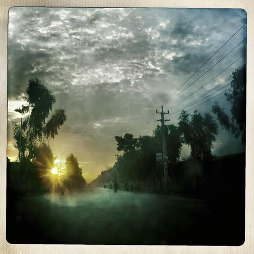 afghanistan sunrise landscape streetview kandahar afg balazsgardi basetrack basetrackorg