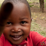 Young Kid Grabs Camera - Mto wa Mbu, Tanzania
